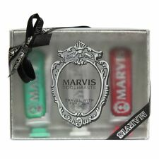 Marvis 3 Flavours Toothpaste Set -(Classis,Whitening+Cinnamon Mint) UK STOCKIST