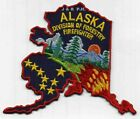 """Wildland - Alaska Division of Forestry, AK  (5.5"""" x 4.75"""")  fire patch"""