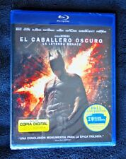 BATMAN, CABALLERO OSCURO: LA LEYENDA RENACE. BLU RAY (BD), NEW & SEALED!