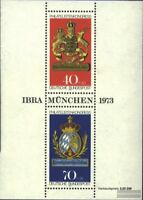 BRD (BR.Deutschland) Block9 (kompl.Ausg.) Ersttagssonderstempel gestempelt 1973