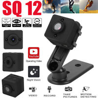 SQ12 140°Wide Angle Mini Sport Video Camera DVR Infrared Night Vision Camcorder
