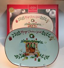 Lenox American by Design Merry Christmas Y'all Tray Platter Original Box