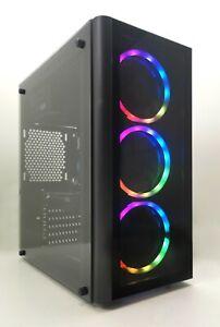 CHEAP FAST GAMING PC i5 Quad Core 8GB RAM 240GB SSD 500 HDD WIN 10