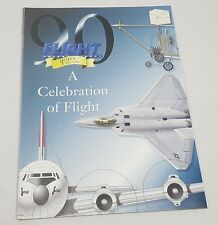 Flight International Magazine Back Issue 90 Years Celebration 1908-1998