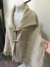 SZ FREE JUST JEANS PONCHO CARDIGAN NWT *BUY FIVE OR MORE ITEMS GET FREE POST *