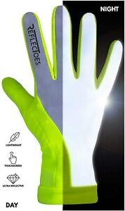 Reflectoes Reflective Running Gloves - Touchscreen - Lightweight Hi Vis Winter R