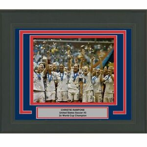 FRAMED Autographed/Signed CHRISTIE RAMPONE Team USA 16x20 Photo Steiner COA