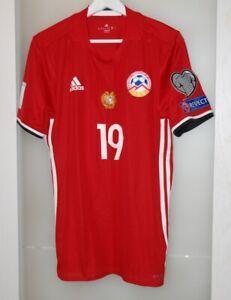 Match worn shirt Armenia national team FC Zürich Switzerland Simonyan size M