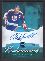 2012-13 The Cup Enshrinements #CE-HA Dale Hawerchuk Auto /50 Winnipeg Jets