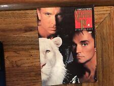 Mirage Hotel Casino Siegfried & Roy Souvenir Program Book 1991 Las Vegas Nevada