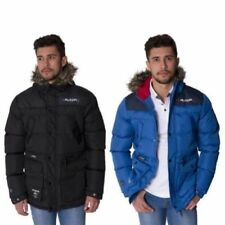Cappotti e giacche da uomo parke pelliccia bottone
