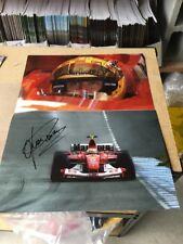 Ferrari Luca Bodoer Signed Photos
