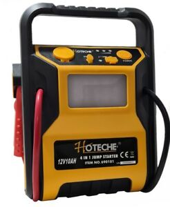 Avviatore di emergenza jump starter auto 12v 4 in 1 300A compressore torcia USB