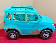 Mattel Barbie Camping Fun Jeep Teal Blue Off Road Adventure Vehicle Fgc99