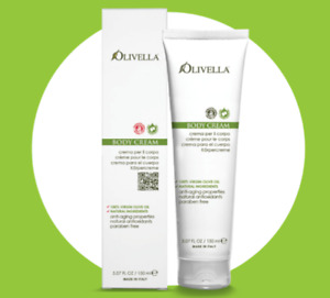 Olivella 100% Virgin Olive Oil Natural Antioxidants Body Cream 150ml
