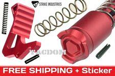 Strike Industries RED LINE Enhanced Top kit Lever + Bolt Button parts build upr