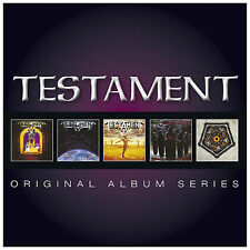 Testament ORIGINAL ALBUM SERIES Legacy SOULS OF BLACK Box Set NEW SEALED 5 CD