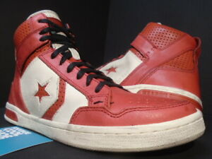 CONVERSE CONS JV WEAPON MID JOHN VARVATOS CHICAGO CHILI PEPPER RED OFF WHITE 9.5