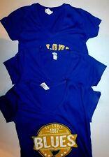 St. Louis Blues Juniors V-Neck T-Shirts LAT,  S, M
