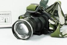 TORCIA LED LAMPADA FRONTALE TESTA RICARICABILE SOFT AIR PESCA BL-6807 mshop