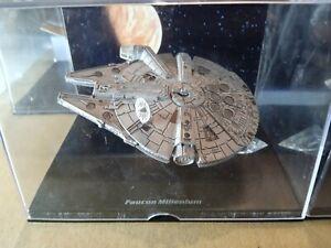 Lot 4 Vaisseaux STAR WARS Lucasfilm Ltd.2008 Atlas (Faucon Millenium, X-wing...)