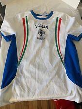 Italia Italy National Football Soccer Jersey Short Sleeve Shirt EURO 2016 France