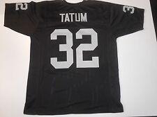 UNSIGNED CUSTOM Sewn Stitched Jack Tatum Black Jersey - M, L, XL, 2XL