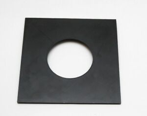 Sinar lens board Copal #3 65mm hole new