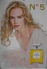 Affiche N° 5 Chanel 2006 NICOLE KIDMAN - 120x177 cm abribus