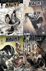 Haunt #1-4 (2009-2012) Image Comics - 4 Comics