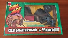BIG JIM MATTEL KARL MAY WINNETOU & OLD SHATTERHAND 20 OUTFIT COMPLETE COLLECTION