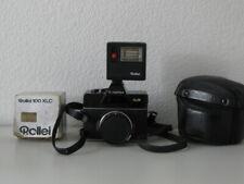 Rolleiflex SL26 - Carl Zeiss Tessar 2.8/40 Lens + Flash,case and manual
