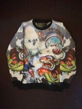 JUUN J x GREG SIMKINS Neopren Sweater Size M Gr.M Print Neoprene NWT designer