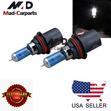 9004 100w Halogen Xenon Headlight Replacement 2x Light Bulb Lamp 6000K White