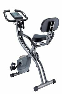 OTHELLO Heimtrainer Fitness Bike Fahrrad Ergometer Indoor Faltbar Seilzug 100 kg