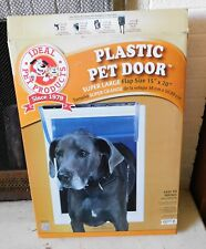 New listing Ideal Pet Products Plastic Dog Door