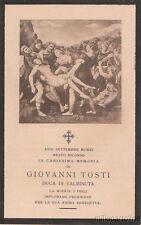 SANTINO LUTTO GIOVANNI TOSTI DUCA DI VALMINUTA 1911