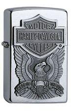 ZIPPO Benzin Feuerzeug HARLEY DAVIDSON ® Eagle Emblem 60001207 NEU OVP