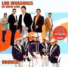 New: Bronco, Invasores De Nuevo Leon: Del Norte Lo Mejor  Audio CD