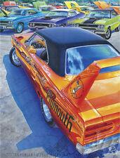 PLYMOUTH SUPERBIRD ART 1970 1971 1972 GTX ROAD RUNNER 440 MOPAR MICHAEL IRVINE