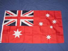 3X5 AUSTRALIAN ENSIGN FLAG RED AUSTRALIA NAVAL NEW F576