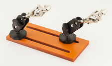 "BackBayRC ""Helping Hands"" Jig - 2 Adjustable Arms with Spring Loaded Clips"