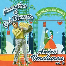 CD Accordéon et bal musette : André Verchuren - Vol. 2