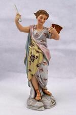 Antico XIX secolo Rudolstadt volkstedt Classica Figurina ~ le arti studioso