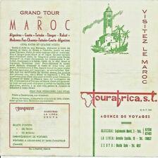 PROSPECTUS Visitez le MAROC par TOURAFRICA Algesiras  Ceuta Tanger Casa 06 1966