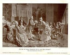 """Arturo RICCI """"you have with your Magic song you in Mei..."""" HISTOR. Art Print 1908"""