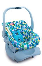 Joovy Doll Or Stuffed Toy Car Seat, 20 Inch Dolll Car Seat, Blue Dot