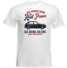 Vintage japonés Coche Honda Civic 1982-Nuevo Algodón Camiseta