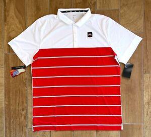 New Mens Nike Ohio State Buckeyes Elite Sideline Coach's Polo Shirt XL $65