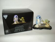 star wars Yoda & R2-D2 Maquette Gentle Giant Limited Edition 1940/2500 2007